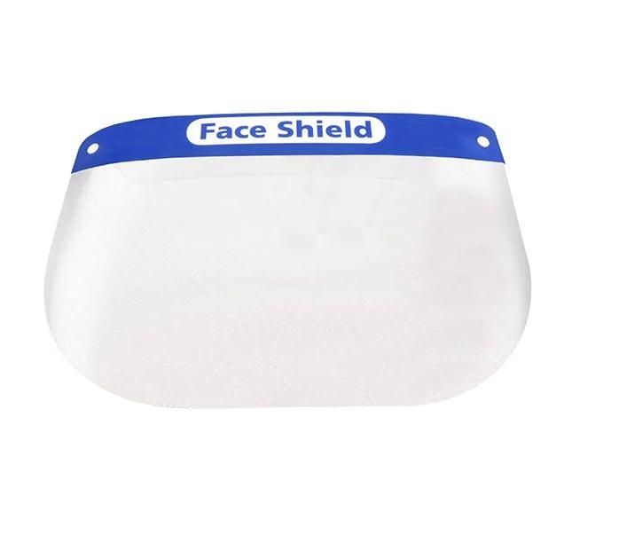 Schermo facciale antispruzzo