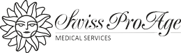 Swiss Pro Age, medicina estetica Lugano, Dr.med. Nenad Nikolic, trattamenti corpo, ozonoterapia, botox, specialisti in nutrizione canton ticino Logo