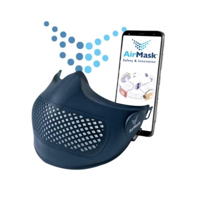 AirMask mascherina di protezione tecnologica Svizzera Canton Ticino