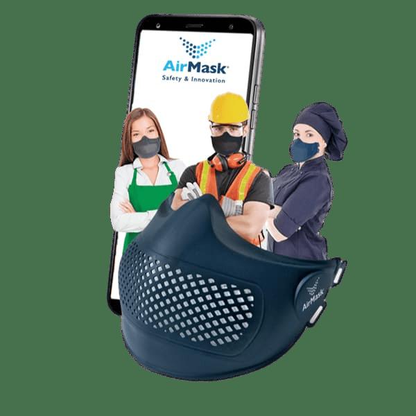 mascherine facciali di sicurezza per lavoratori AirMask Svizzera Canton Ticino