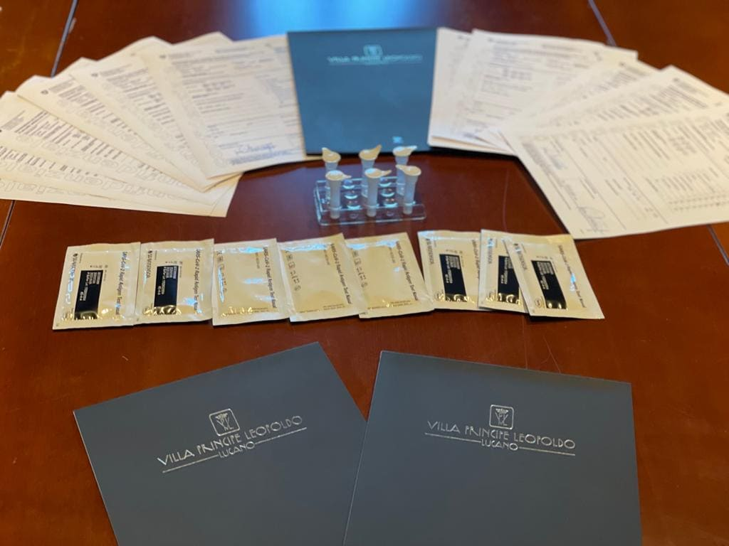 test covid per eventi a Lugano e in Canton Ticino